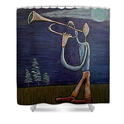 Dreamers 13-002 Shower Curtain by Mario Perron