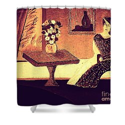Dreamin In Lyon By Bill O'connor Shower Curtain