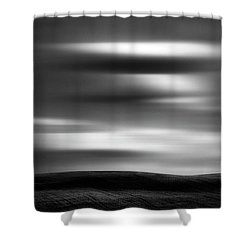 Shower Curtain featuring the photograph Dreaming Clouds by Dan Jurak