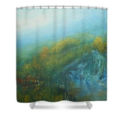 Dreaming Dreams Shower Curtain by Jane See