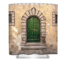 Dreaming Of Cortona Shower Curtain