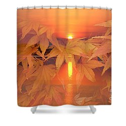 Dreaming Of Fall Shower Curtain by Geraldine DeBoer