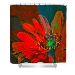 Shower Curtain featuring the photograph Dreaming Of Flowers by Jeff Swan