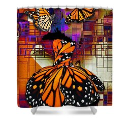 Dreaming Of Flying High Shower Curtain