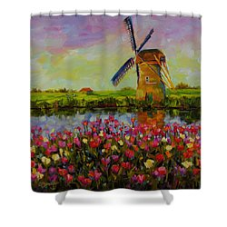 Dreaming Of Holland Shower Curtain