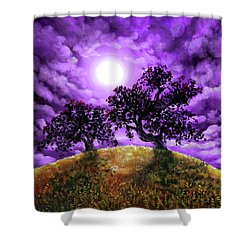 Dreaming Of Oak Trees Shower Curtain by Laura Iverson