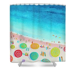 Dreaming Of Sun, Sand And Sea Shower Curtain