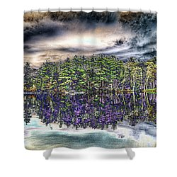 Dreaming Of The Past Shower Curtain by Daniel Hebard