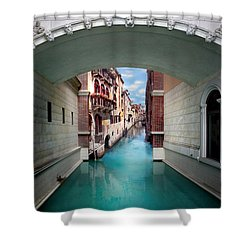 Dreaming Of Venice Shower Curtain