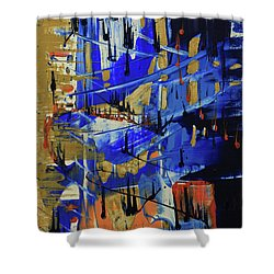Dreaming Sunshine II Shower Curtain by Cathy Beharriell