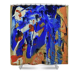 Dreaming Sunshine IIi Shower Curtain by Cathy Beharriell
