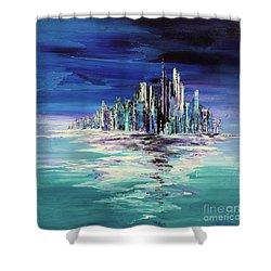 Dreamland Isle Shower Curtain