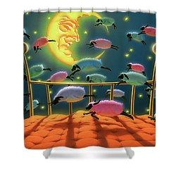 Dreamland Shower Curtain
