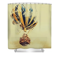 Dreams And Clouds Shower Curtain