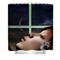 Dreams Are Made Of Shower Curtain by Bob Orsillo