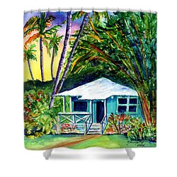 Dreams Of Kauai 2 Shower Curtain by Marionette Taboniar
