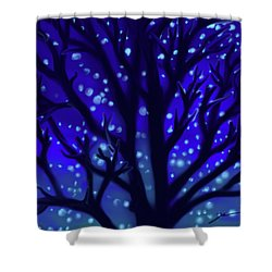 Dreams Of Needham Shower Curtain by Jean Pacheco Ravinski