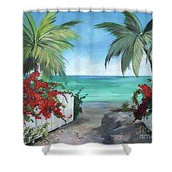 Dreams Of St. John Shower Curtain