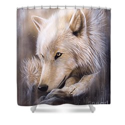 Dreamscape - Wolf Shower Curtain