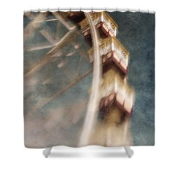 Dreamscape Shower Curtain by Andrew Paranavitana