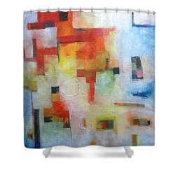 Dreamscape Clouds Shower Curtain