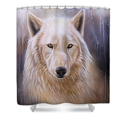 Dreamscape Wolf IIi Shower Curtain