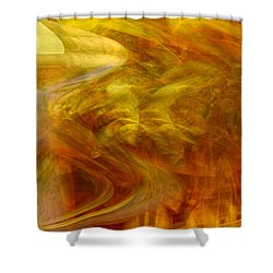 Dreamstate Shower Curtain by Linda Sannuti