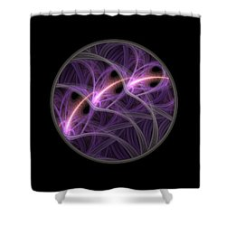 Shower Curtain featuring the digital art Dreamstate by Lyle Hatch