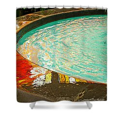 Dreamtime Shower Curtain by Skip Hunt
