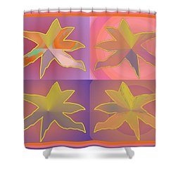 Dreamtime Starbirds Shower Curtain