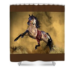 Shower Curtain featuring the painting Dreamweaver by Valerie Anne Kelly