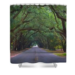 Dreamy Boundry Shower Curtain