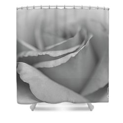 Dreamy Bw Shower Curtain