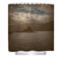 Shower Curtain featuring the photograph Dreamy Castle #g8 by Leif Sohlman