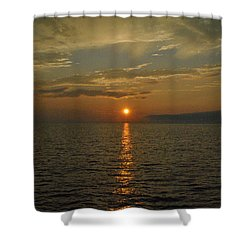 Dreamy Dusk Shower Curtain