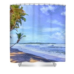 Dreamy Manzanilla Shower Curtain