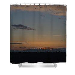 Dreamy Sunset Shower Curtain