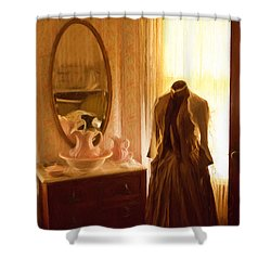 Dressing Room Shower Curtain