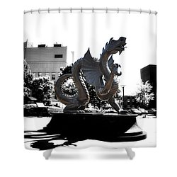 Drexel Dragon Shower Curtain by Bill Cannon