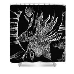 Drifted Shower Curtain
