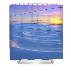Drifting Away Shower Curtain by Dan Jurak