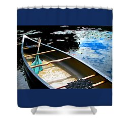 Drifting Into Summer Shower Curtain by Angela Davies
