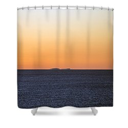 Drifting Through Shower Curtain
