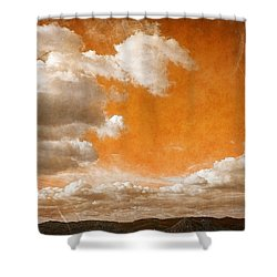 Shower Curtain featuring the photograph Drifting Through The Valley by Glenn McCarthy Art and Photography