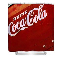 Drink Coke Shower Curtain