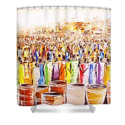 Drink Festival Shower Curtain