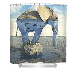 Drinking Problem Shower Curtain