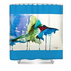 Da118 Drip Daniel Adams Shower Curtain