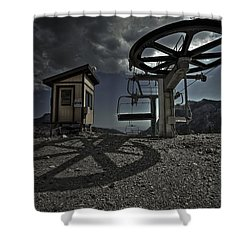 Drip Dry  Shower Curtain by Mark Ross