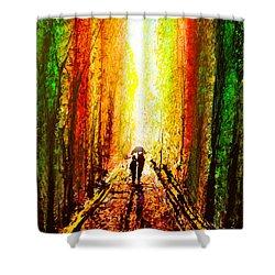 Drip X 73 Shower Curtain